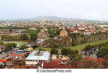 Nice view of Tbilisi, Georgia