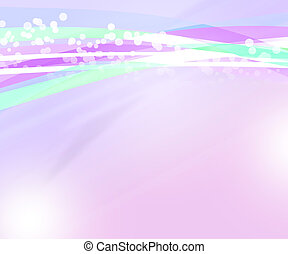 Nice Violet Abstract Background