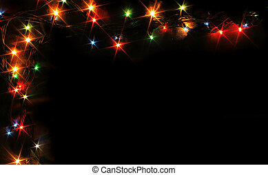 Nice xmas frame from the color lights.