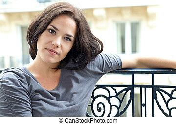 Nice young woman