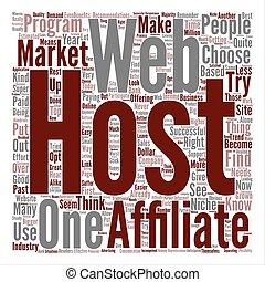 niche, concept, mot, texte, comment, narkets, affiliate, fond, devenir, super, nuage