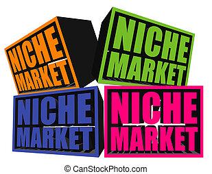 nicho, mercados