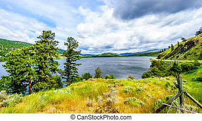 Nicola Lake in British Columbia