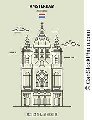 nicolas, basilique, pays-bas, amsterdam, saint