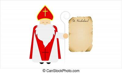 nicolas, saint, lettre