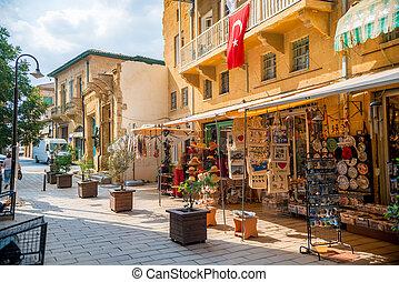 nicosia, -, touristic, 記念品, 人気が高い, arasta, キプロス, 19:, 通り。, 店, 9 月