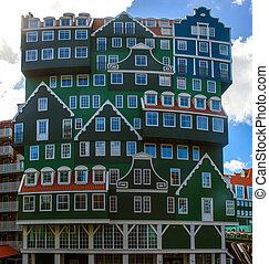 Niderlandy,  zaandam, Architektura