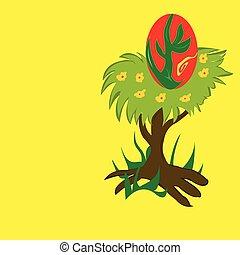 nido, albero