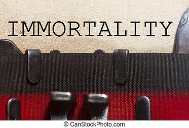 nieśmiertelność