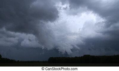 niebezpieczny, burza