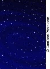 niebiański, gwiazdy