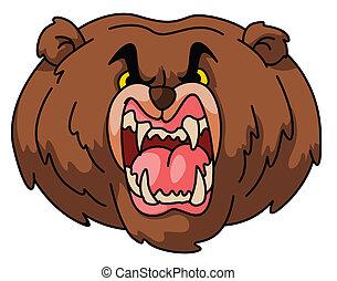 niedźwiedź, maskotka