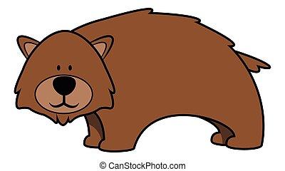 niedźwiedź, niemowlę