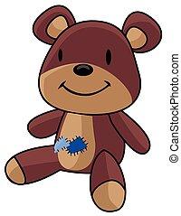 niedźwiedź, zabawki