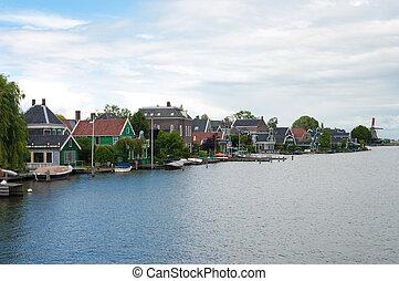 niederländisch, häusser