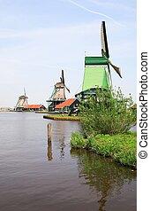 niederländisch, landschaftsbild