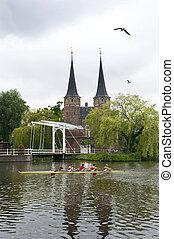niederländisch, rudern