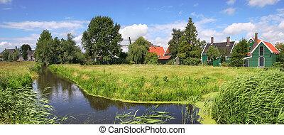 niederländisch, village.