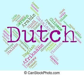 Sprache Dutch