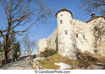 Niedzica castle in Poland.