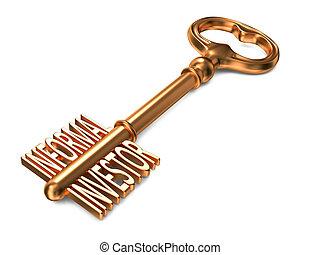 nieformalny, inwestor, -, key., złoty