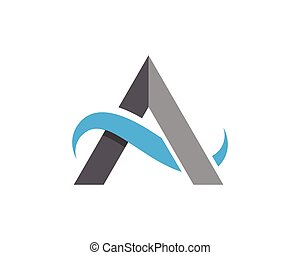 niejaki, litera, logo, szablon