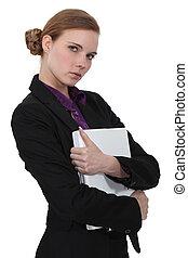 niejaki, sprytny, kobieta interesu, dzierżawa, niejaki, folder.