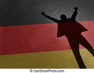 niemcy, powodzenie