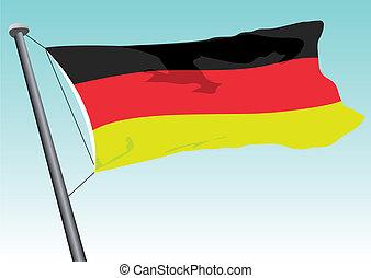 niemiecka bandera
