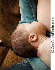 niemowlę, breastfeeding