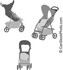 niemowlę, carriages/prams
