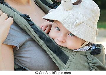 niemowlę, der, trage