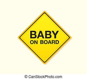 niemowlę, deska