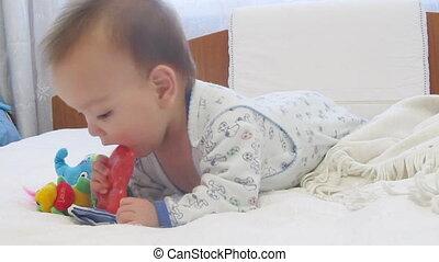 niemowlę, gry, zabawki