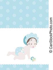 niemowlę przelotny deszcz