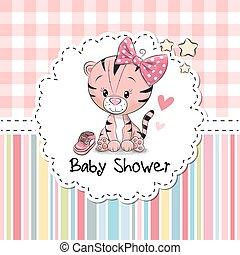 niemowlę przelotny deszcz, powitanie karta