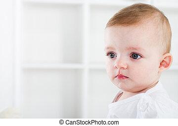 niemowlę, sprytny