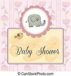 niemowlę, zawiadomienie, romantyk, karta