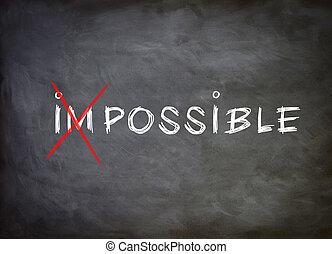 niente, impossibile