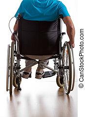 niepełnosprawny, pacjent