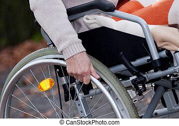 niepełnosprawny, ruchomy