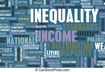 nierówność, dochód