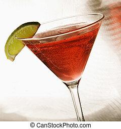 nieruchome życie, od, martini.