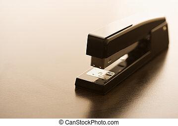nieruchome życie, od, stapler.