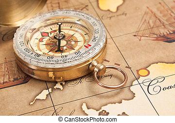 nieruchome życie, z, rzeczy, wolny czas, i, podróż