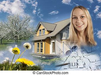 nieruchomość, collage