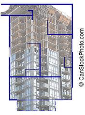 nieruchomość, floorplan