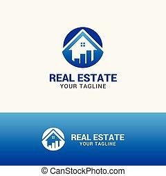 nieruchomość, logo