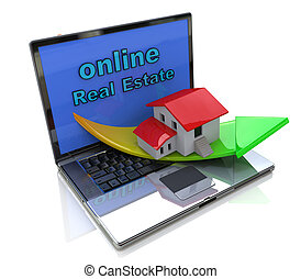 nieruchomość, online