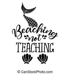 niet, beaching, onderwijs